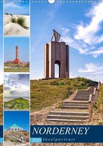 Norderney Inselportrait (Wandkalender 2020 DIN A3 hoch)