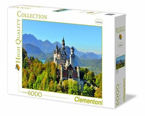 Clementoni - Neuschwanstein Puzzle 6.000 Teile - High Quality Co