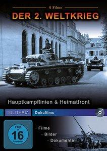Hauptkampflinien & Heimatfront (4 Filme)
