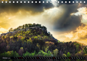 Bilder aus dem Nationalpark Sächsische Schweiz (Tischkalender 20