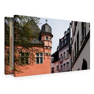 Premium Textil-Leinwand 75 cm x 50 cm quer Florinsmarkt
