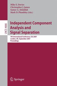 Independent Component Analysis and Signal Separation