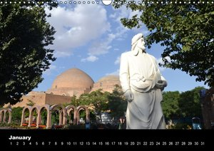 IRAN / UK-Version (Wall Calendar perpetual DIN A3 Landscape)