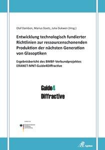 Entwicklung technologisch fundierter Richtlinien zur ressourcens