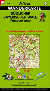 Südlicher Bayerischer Wald / Passauer Land 1 : 50 000