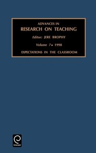Advances in Research on Teaching