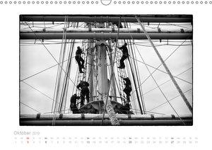 Gorch Fock - zeitlose Eindrücke (Wandkalender 2019 DIN A3 quer)