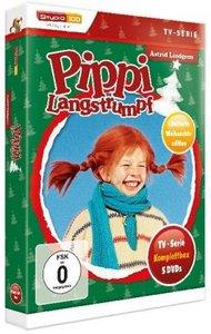Pippi Langstrumpf TV-Serien Box, 5 DVDs (Special Edition)