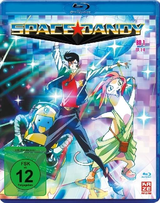 Space Dandy - Vol. 1 [Blu-ray] - zum Schließen ins Bild klicken