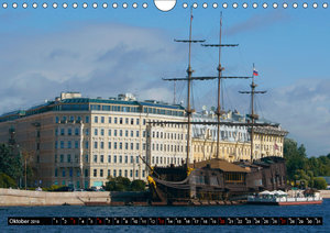 Flussfahrt Moskau - St. Petersburg (Wandkalender 2019 DIN A4 que
