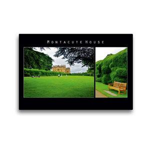 Premium Textil-Leinwand 45 cm x 30 cm quer Montacute House, Engl