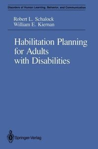 Habilitation Planning for Adults with Disabilities