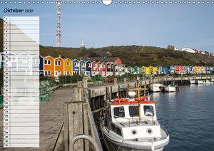 Helgoland - idyllische Nordseeinsel (Wandkalender 2019 DIN A3 qu