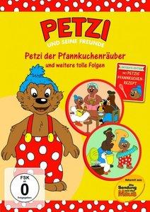 Petzi der Pfannkuchenräuber und weitere tolle Folgen, 1 DVD