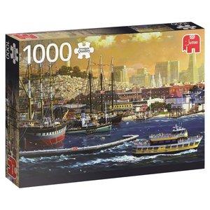 Der Hafen von San Francisco, USA - 1000 Teile Puzzle