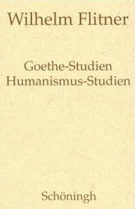 Goethe-Studien / Humanismus-Studien