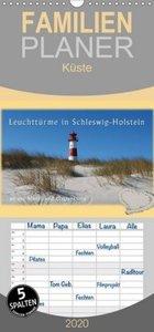 Leuchttürme Schleswig-Holsteins - Familienplaner hoch