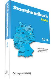 Staatshandbuch Berlin 2014