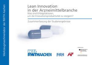 Lean Innovation in der Arzneimittelbranche - Was sind Erfolgsfak