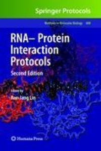RNA-Protein Interaction Protocols