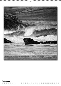 Ocean / UK-Version (Wall Calendar perpetual DIN A2 Portrait)