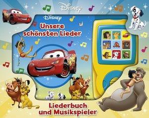 Unsere schönsten Lieder - Liederbuch und Musikspieler - Disney-P
