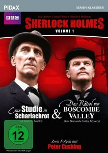 Sherlock Holmes Vol. 1: Eine Studie in Scharlachrot + Das Rätsel