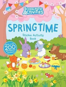 Scholastic Activities: Springtime Sticker Activity
