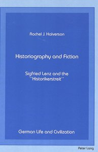 Historiography and Fiction