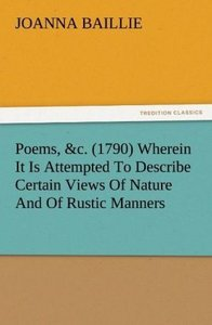 Poems, &c. (1790) Wherein It Is Attempted To Describe Certain Vi