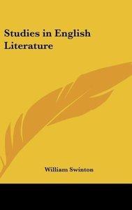 Studies in English Literature