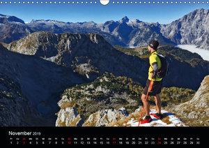 Trailrunning - die Leidenschaft in den Bergen zu laufen (Wandkal