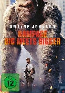 Rampage - Big Meets Bigger, 1 DVD