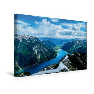 Premium Textil-Leinwand 45 cm x 30 cm quer Höhenweg über dem Ach