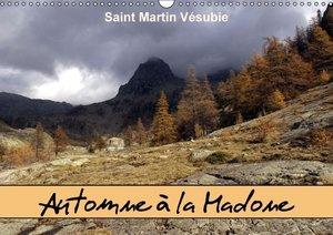 Automne à la Madone Saint Martin Vésubie (Calendrier mural 2015