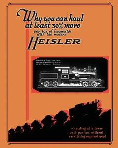 Heisler Geared Locomotives Catalog