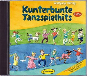 Kunterbunte Tanzspielhits - Doppel-CD