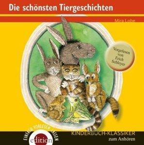 Die schönsten Tiergeschichten, 1 Audio-CD