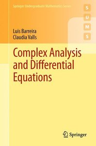 Complex Analysis and Differential Equations