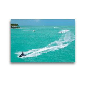 Premium Textil-Leinwand 45 cm x 30 cm quer Key West