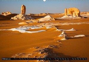Sand, Felsen und Packeis. Weiße Wüste