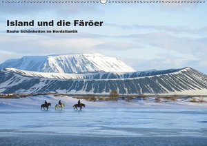 Island und die Färöer (Wandkalender 2019 DIN A2 quer)