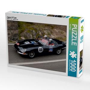 Jaguar E-Type 1000 Teile Puzzle quer