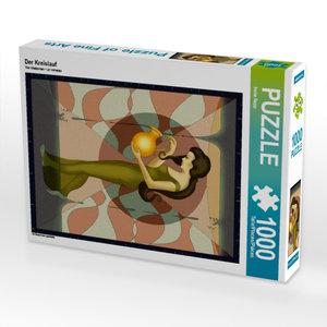 Der Kreislauf 1000 Teile Puzzle hoch