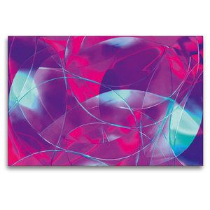 Premium Textil-Leinwand 120 cm x 80 cm quer Luftträume