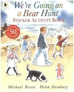 We're Going on a Bear Hunt. Sticker Activity Book