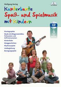 Kunterbunte Spaß- und Spielmusik mit Kindern