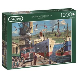 Down at the Docks - 1000 Teile Puzzle