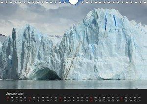 Die Antarktis / CH-Version (Wandkalender 2019 DIN A4 quer)