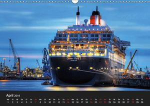 Hamburger Hafen (Wandkalender 2019 DIN A3 quer)